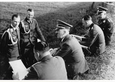 Der Fürher visits troops on the ground in Poland, (Spring 1940).