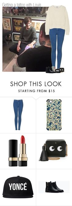 """""""Getting a tattoo with Louis"""" by sophie-188 ❤ liked on Polyvore featuring"""