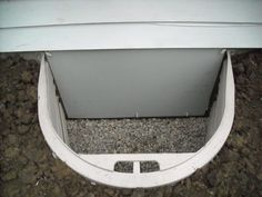 Crawl Space On Pinterest Crawl Spaces Doors And Water Droplets