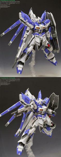 GUNDAM GUY: MG 1/100 Hi Nu Gundam Ver Ka - Customized Build