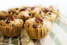 Gluten-Free Goddess Recipes: Quinoa Muffins with Pecans - can omit nuts for nut-free
