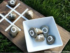 DIY Tic Tac Toe Game | 20 DIY Summer Games To Entertain Kids