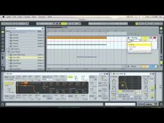 How to make a white noise build up in Ableton