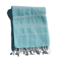 Hamam towel in aqua