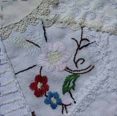 I ❤ crazy quilting & embroidery . . .  CQJP June block ~By Ritva Peltola