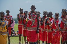 The local Maasai community thank the Sattkarya Organisation for their donation of 377 pairs of shoes to Ololomei Primary School, close to Elephant Pepper Camp
