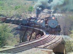 Tren subiendo por Palìn, Escuintla