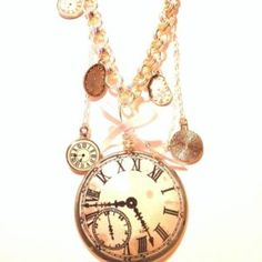 Handcrafted Jewelry, Pocket Watch, Joy, Watches, Accessories, Handmade Chain Jewelry, Handmade Jewelry, Clocks, Pocket Watches
