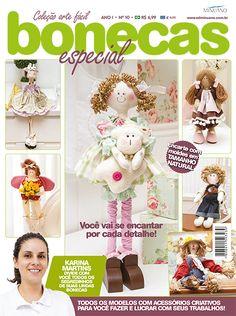 Artesanato - Bonecas : COL ARTE FACIL BONECAS ESP 010 - Editora Minuano