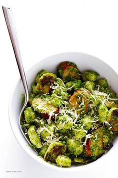 Gnocchi with Brussels Sprouts