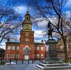 Pennsylvania, USA - Phliadelphia - Independence Hall - Where the seeds of a new nation were born.