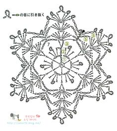 Crochet Pattern – Angel with Gold Trim Crochet Snowflake Pattern, Crochet Stars, Crochet Motifs, Crochet Snowflakes, Crochet Diagram, Crochet Round, Doily Patterns, Thread Crochet, Irish Crochet