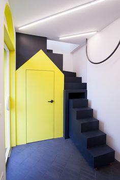 nordic bros design community completes tiny, bright north gate salon