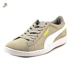 PUMA Women's Vikky Fashion Sneaker,Gray/Violet/White,9.5 B US - Puma sneakers for women (*Amazon Partner-Link)