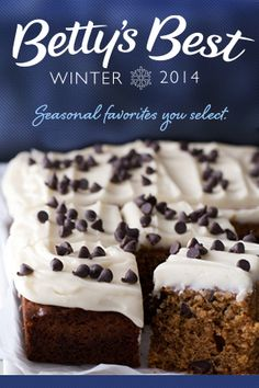 Help the Betty Crocker Kitchens determine the best recipes of Winter! We've picked 24 delicious recipes; can you narrow it down to one ultimate winner in each category?