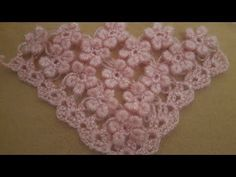 Çiçekli Şal Yapımı - YouTube