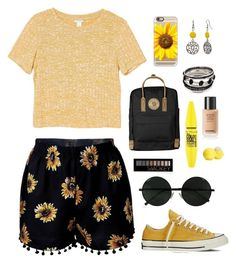 """Flower Girl"" by etg26 ❤ liked on Polyvore featuring Monki, Casetify, Converse, Mixit, Fjällräven, Forever 21, Eos and Maybelline"