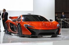 The P1 is McLaren's new flagship and will be available from late 2013