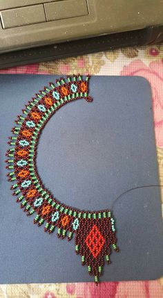 Best 11 - Page 398920479488539275 - SkillOfKing. Beading Projects, Beading Tutorials, Beading Patterns, Seed Bead Necklace, Seed Bead Jewelry, Beaded Jewelry, Handmade Beads, Handmade Jewelry, Glass Bead Crafts