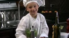Make your own homemade pesto for dinner using only six ingredients and a food processor! #iamcurious BONUS: this little pesto chef is the cutest TV chef ever and will also inspire your kids to cooking!