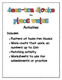Use these fun activities and posters to help your students learn about ...