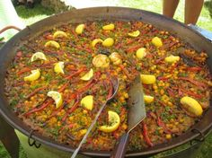 Vegetarische paella