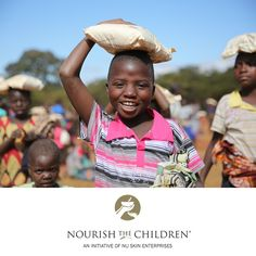 Now begins the time of giving. Give yourself and the children a smile!