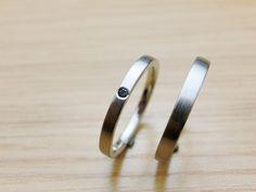 material:pt  wide:2.5mm  option:blackdiamond    http://www.yubiwatsukuru.com/