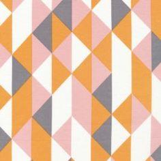 on point - peachy - simpatico by michelle engel bencsko - cloud 9 organic fabrics