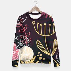 Fitted Waist Sweater : LUXURY VINTAGE BLACK FOLK