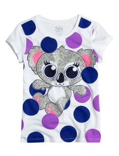 Koala Dot Graphic Tee | Girls Graphic Tees Clothes | Shop Justice