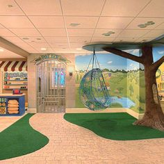 Spaces Modern Playroom Design, Pictures, Remodel, Decor and Ideas - page 6