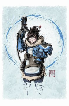 Pretty sweet, would make the face a tad more round but still, it is a style and it's amazing regardless Overwatch Comic, Overwatch Fan Art, Fantastic Art, Fantastic Beasts, It's Amazing, Video Game Movies, Soldier 76, Widowmaker, Expressive Art