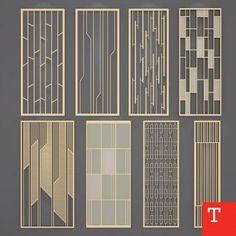 wall treatment ideas, wall treatments #walltreat 隔断屏风组合3d模型...