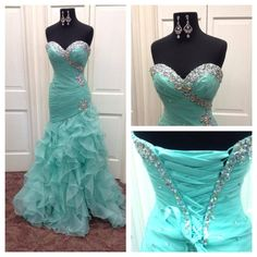 Mermaid Prom Dresses Under 200 2015 Mermaid Prom Dresses Real Pictures Vestidos De Fiesta Sweetheart Neck Pleated Beaded Ruffled Organza Mermaid Prom Gowns With Lace Up Strapless Prom Dresses From Nicedressonline, $188.7  Dhgate.Com