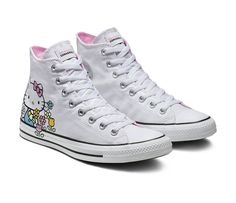 25ef92baac39 Converse x Hello Kitty Adult Chuck Taylor All Star High Top