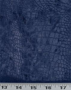 Crocodile Velvet Indigo | Online Discount Drapery Fabrics and Upholstery Fabric Superstore!