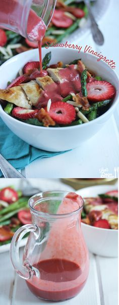 Strawberry Vinaigrette from Lexi's Clean Kitchen