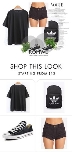 """Bez naslova #51"" by jakee-1 ❤ liked on Polyvore featuring adidas Originals, Converse and Billabong"