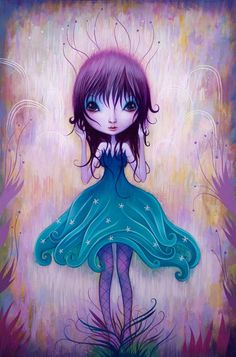◇ Girl Paintings By Jeremiah Ketner ◇