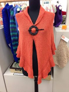 "Tanya Burke created this ""one of kind"" shall...perfect addition for your Fall wardrobe1"