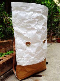 Mochila: Tyvek y papel de Kraft rollo mochila/viajes Bolsa