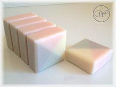 """Seife """"Geisha Spring"""" - geometric soap - square"""