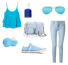 """Blue"" by xampl3449 on Polyvore"