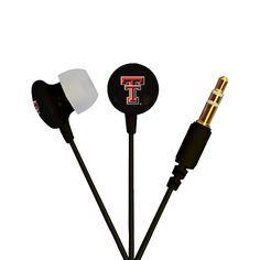 AudioSpice Ignite In-Ear Headphones - Texas Tech University Red Raiders