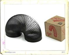 Slinky – Blast from the past: Throw them down the stairs and watch them work.