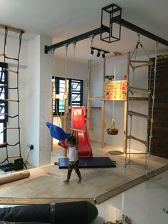 Kids Obstacle Course, Gym Room, Ninja Warrior, Indoor Playground, Kid  Spaces, Climbing, Jackson, Kids Rooms, Play Rooms