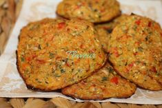 CHIFTELUTE DE LEGUME - Flaveur Romanian Food, Tandoori Chicken, Vegetable Recipes, Baby Food Recipes, Food And Drink, Sweets, Vegetables, Cooking, Ethnic Recipes