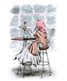 Ideas Fashion Illustration Sketches Hijab For 2020 Girl Drawing Pictures, Pictures To Draw, Girl Pictures, Girls Anime, Anime Art Girl, Girl Cartoon, Cartoon Art, Cartoon Drawings, Cute Drawings
