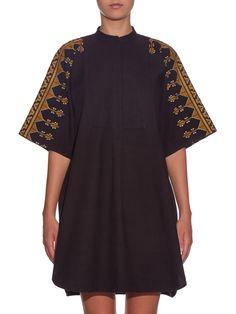 Dylym embroidered cotton dress   Vanessa Bruno   MATCHESFASHION.COM US